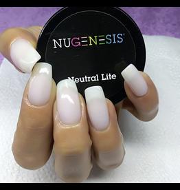 NuGenesis NUGENESIS - Nail Dipping Color Powder 43g Neutral Lite