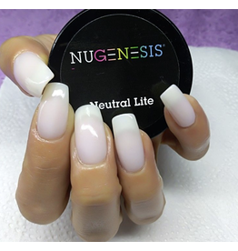 NuGenesis NUGENESIS Neutral Lite - Nail Dipping Color Powder 43g