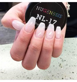 NuGenesis NUGENESIS Peek-A-Boo - Nail Dipping Color Powder 43g NL 17