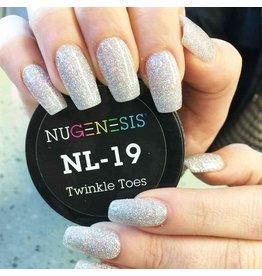 NuGenesis NUGENESIS Twinkle Toes - Nail Dipping Color Powder 43g NL 19
