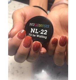 NuGenesis NUGENESIS - Nail Dipping Color Powder 43g NL 22 I'll Be Waiting