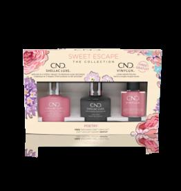 CND CND Poetry 3 bottles - Shellac + Vinylux + Top Coat