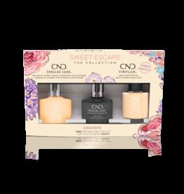 CND CND Exquisite 3 bottles - Shellac + Vinylux + Top Coat