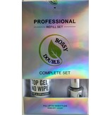 Bossy Gel Bossy Gel - Top Gel No Wipe Refill set (250 ml)