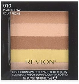 Revlon Revlon 010 Peach Glow Highlighting Palette Lumineux 7.5g