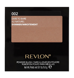 Revlon Revlon 002 Dare to Bare Shimmer Powder Blush 5.0g