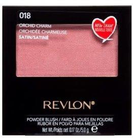 Revlon Revlon 018 Orchid Charm Satin Powder Blush 5.0g