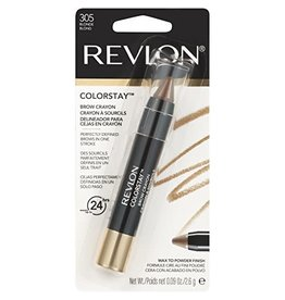Revlon Revlon Colorstay Brown Crayon 305 Blonde - up to 24 hrs - Perfectly Defined Brows in one stroke 2.6g