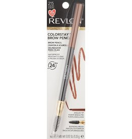 Revlon Revlon Colorstay Brown Pencil 215 Auburn - up to 24 hrs - Waterproof Blending Brush 0.35g