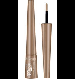 Rimmel Rimmel London 001 Blonde Brow Shake Filling Powder - Ultra Soft Applicator 0.7g