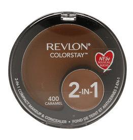 Revlon Revlon Colorstay 400 Caramel 2-in-1 compact makeup & concealer 1.3g