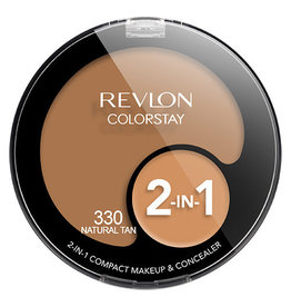 Revlon Revlon Colorstay 330 Natural Tan 2-in-1 compact makeup & concealer 1.3g