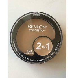Revlon Revlon Colorstay 180 Sand Beige 2-in-1 compact makeup & concealer 1.3g