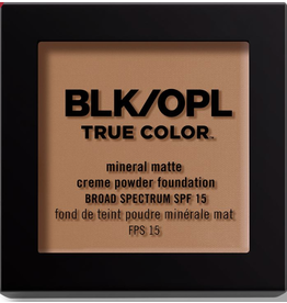 BLK OPL BLK OPL True Color 340 Truly Topaz - mineral matte crème powder foundation SPF 15 8.5g