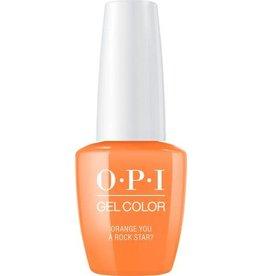 OPI GC N71 Orange You A Rock Star? - OPI Gel Color 0.5oz