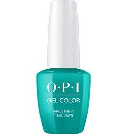 OPI GC N74 Dance Party 'Teal Dawn - OPI Gel Color 0.5oz