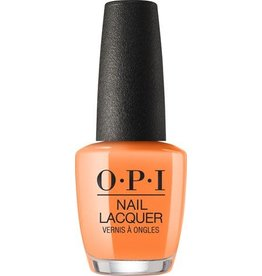 OPI NL N71 Orange You A Rock Star? - OPI Nail Lacquer 0.5oz