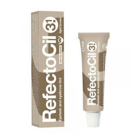 RefectoCil RefectoCil - Eyelash and Eyebrow Tint (15mL) #3.1 Light Brown