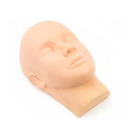 Eyelash training dummy head