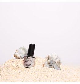 Bio Seaweed Gel Rhinestone Gel Bio Seaweed Moonstone - Dark Grey Silver #R11
