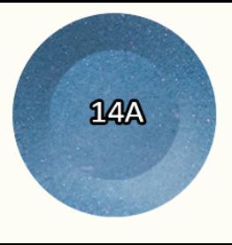 Chisel Nail Art Chisel Nail Art - Dipping Powder Metallic 2 oz -  14A