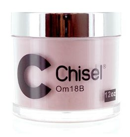 Chisel Nail Art - Dipping Powder Pink & White Collection 12 oz -  OM18B