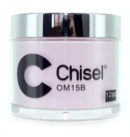 Chisel Nail Art - Dipping Powder Pink & White Collection 12 oz Refill -  OM15B