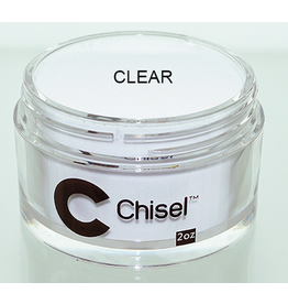 Chisel Nail Art - Dipping Powder 2 oz -  Clear
