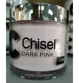Chisel Nail Art - Dipping Powder 12 oz -  Dark Pink