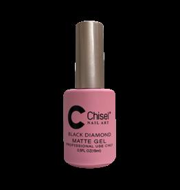 Chisel Nail Art - Black Diamond Matte Gel 15 ml