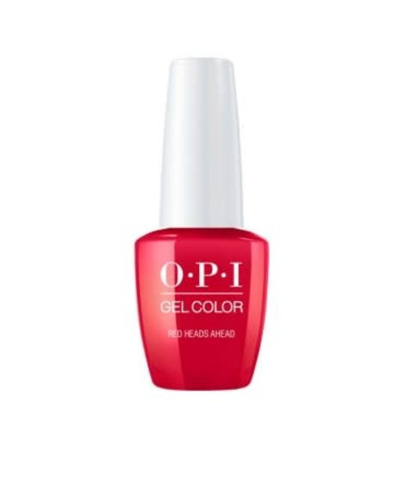 OPI GC U13 Red Heads Ahead - OPI Gel Color 0.5oz