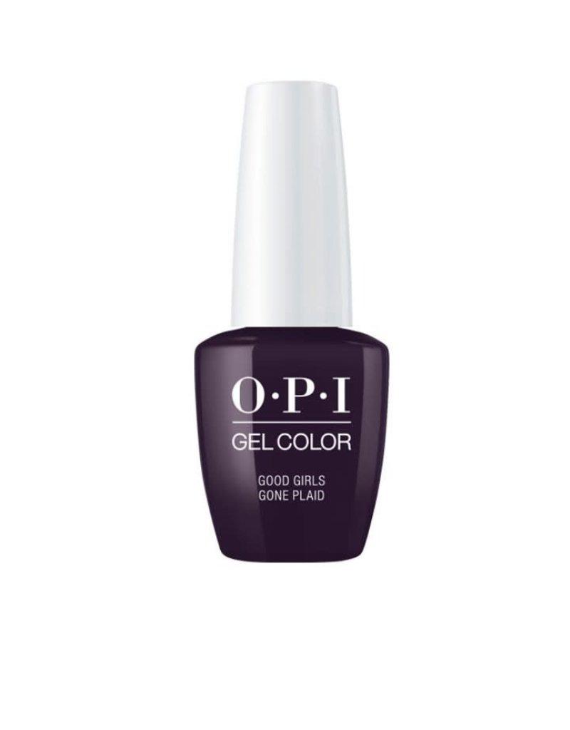 OPI GC U16 Good Girls Gone Plaid - OPI Gel Color 0.5oz