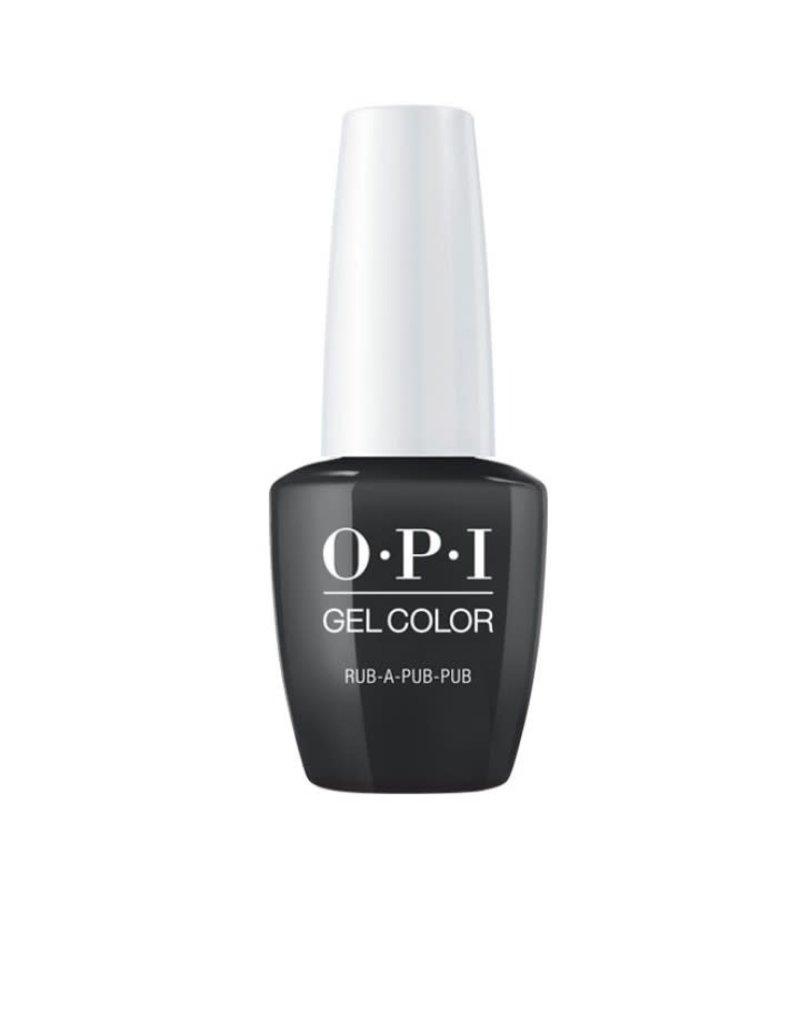 OPI GC U18 Rub-a-Pub-Pub - OPI Gel Color 0.5oz