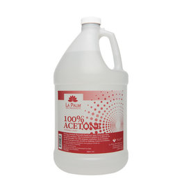 LA PALM Acetone 100% (4 L) GALLON - PICK UP ONLY!