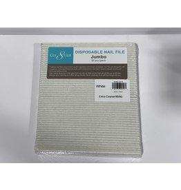 Nail File - Cre8tion Jumbo White 80/80