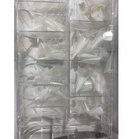 TIP BOX - NATURAL - PRE-SHAPE - STILETTO - PS220-N