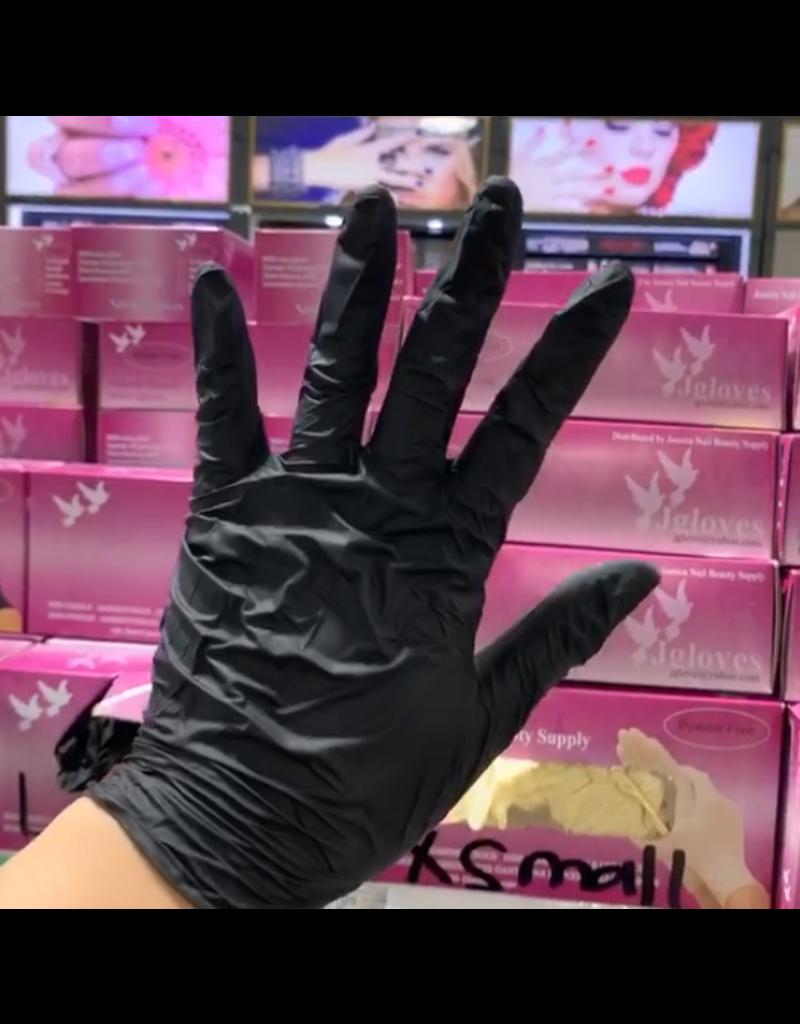 Nitrile Gloves Black - 100 pcs
