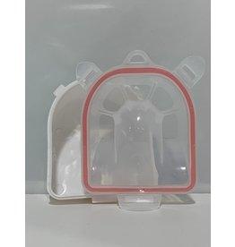 Manicure bowl - white plastic