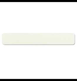 Jumbo Nail File Zebra - White