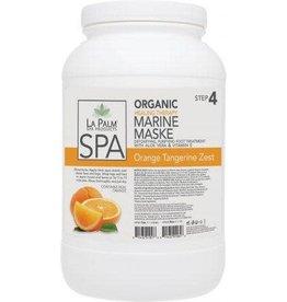 LA PALM La Palm - Organic Marine Maske - Orange Tangerine Zest - 1 GAL