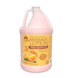 LA PALM La Palm Massage Lotion - Orange Tangerine Zest (2-in-1) - 1 GAL