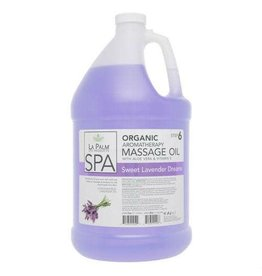 La Palm Massage Oil - Sweet Lavender Dreams- 1 GAL