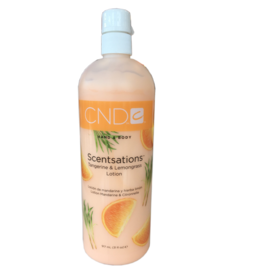 CND CND Hand & Body Lotion - Tangerine & Lemongrass - 917ml