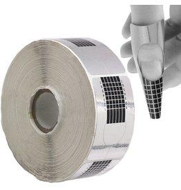 Nail Form - Silver 500pcs