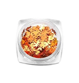 Nail Art Accessories - Maple Leaf Sequin