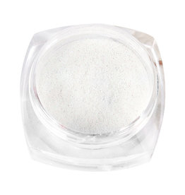 Nail Art Accessories - Sugar-Coated Powder - White