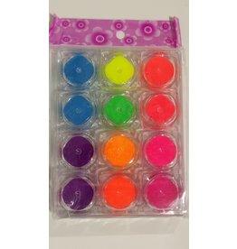 Nail Art Accessories - Pigment Powder 12-jar-Set