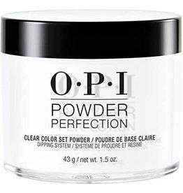 OPI DP003 Clear Color Set Powder 43 g (1.5oz) - OPI Powder Perfection Dipping Powder