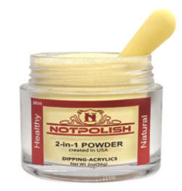 NOTpolish Notpolish 2-in1 Powder 2 oz. - M94 Sunlit Yellow