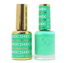 DND DC Duo Gel Matching Color - 254 FOREST GREEN